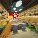 Kindergarten Classroom Interior Scene