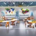 Kindergarten Room Interior Scene