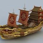 سفينة التاجر الصينية القديمة