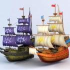 Anime Pirate Ship