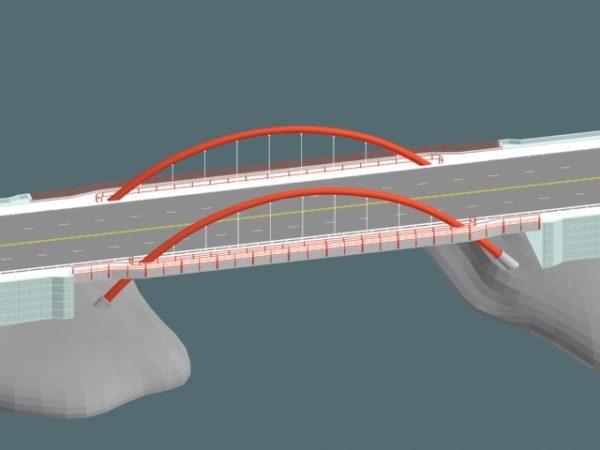 Arch Cantilever Bridge