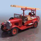 Early Pump-ladder Truck