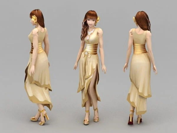 Girl Formal Dresses Character