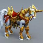 Altın Zırhlı Savaş Atı