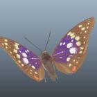 Büyük Mor İmparator Kelebek
