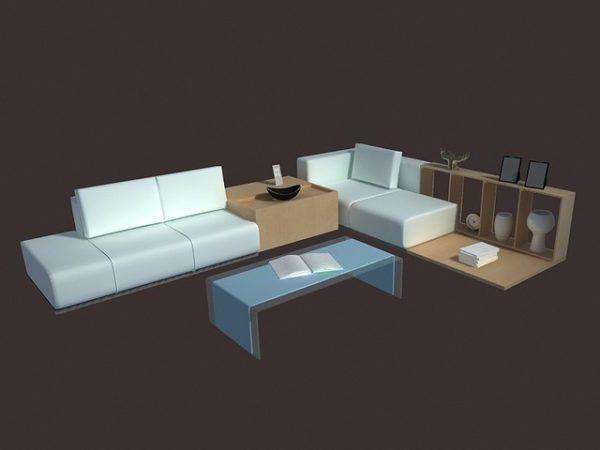 Living Room Set Furniture Fresh Design Free 3ds Max Model