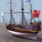 French Navy Frigate Sailing Ship