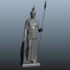 Antik Athena Yunan Tanrıçası Heykeli