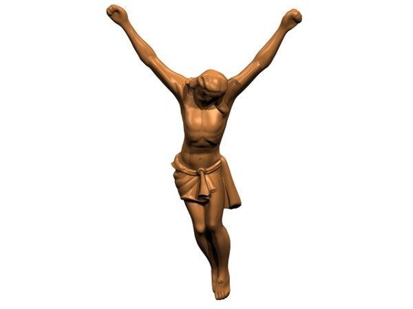 Crucified Christ Figure Statue