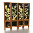 中国のScreen風の装飾