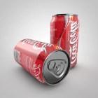 現実的なコカコーラ缶