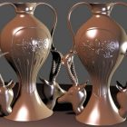 Home Decorative Egyptian Vases