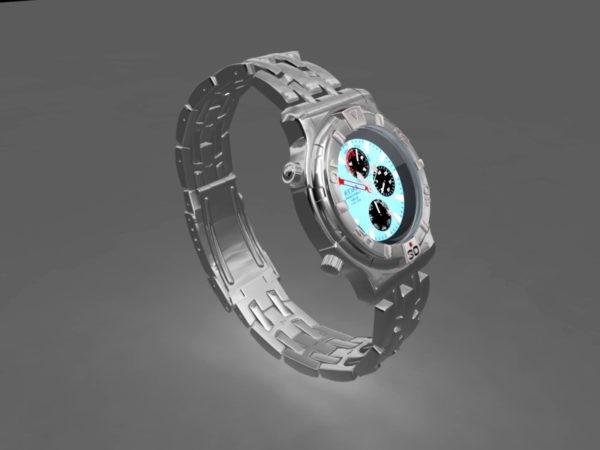 Reloj caro de lujo
