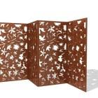 折り畳み式の木製の部屋ディバイダー
