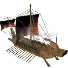 Yunan Sloop Karteria Deniz Taşıtları