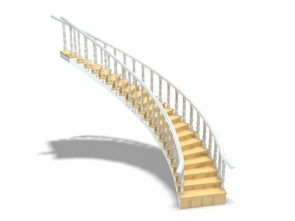 Décoration intérieure d\'escaliers 3ds Max Modèle - .Max ...