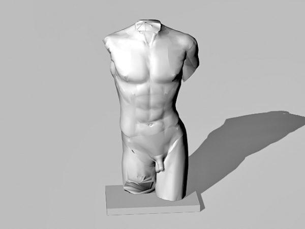 Estatua Figura Masculina Escultura