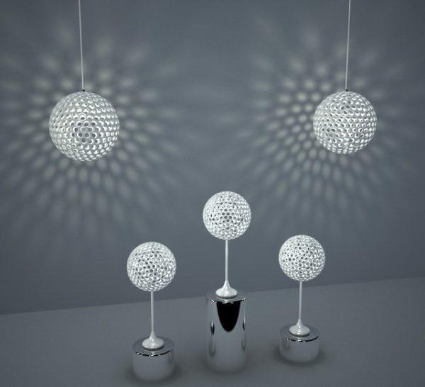 Design esf rico moderno lumin ria gr tis 3ds max modelo for Mobilia sketchup 8