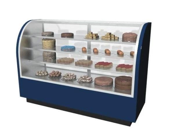 Supermarket Refrigerated Cake Showcase