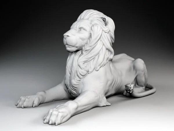 Lion Sculpture Statue