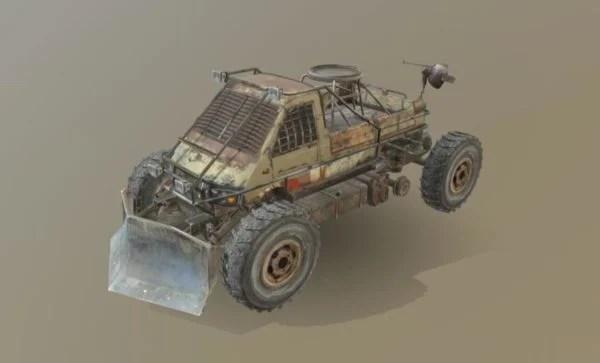 Military Jeep Vehicle