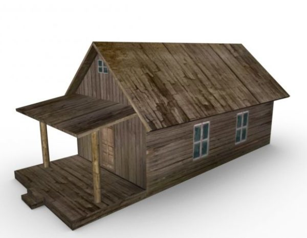 Vintage Wooden Farm House