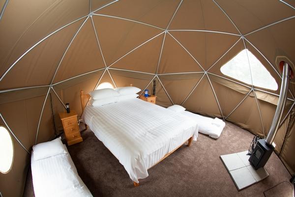 Jersey Zoo bedroom
