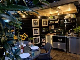 Pod Bods bespoke garden kitchen