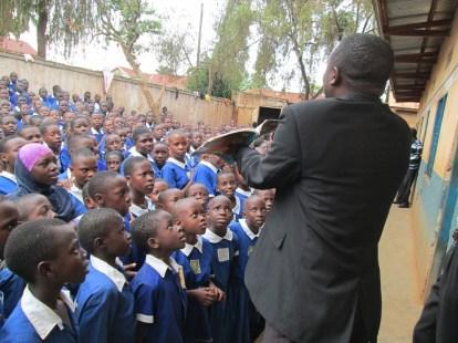 Uganda school ministry