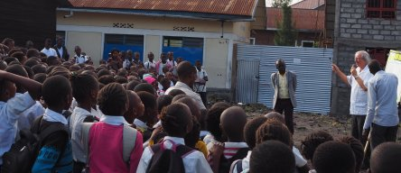 School ministry in the Congo