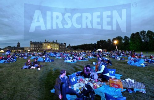 inflatable movie screen Scotland