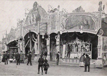 Travelling Cinema in 1907