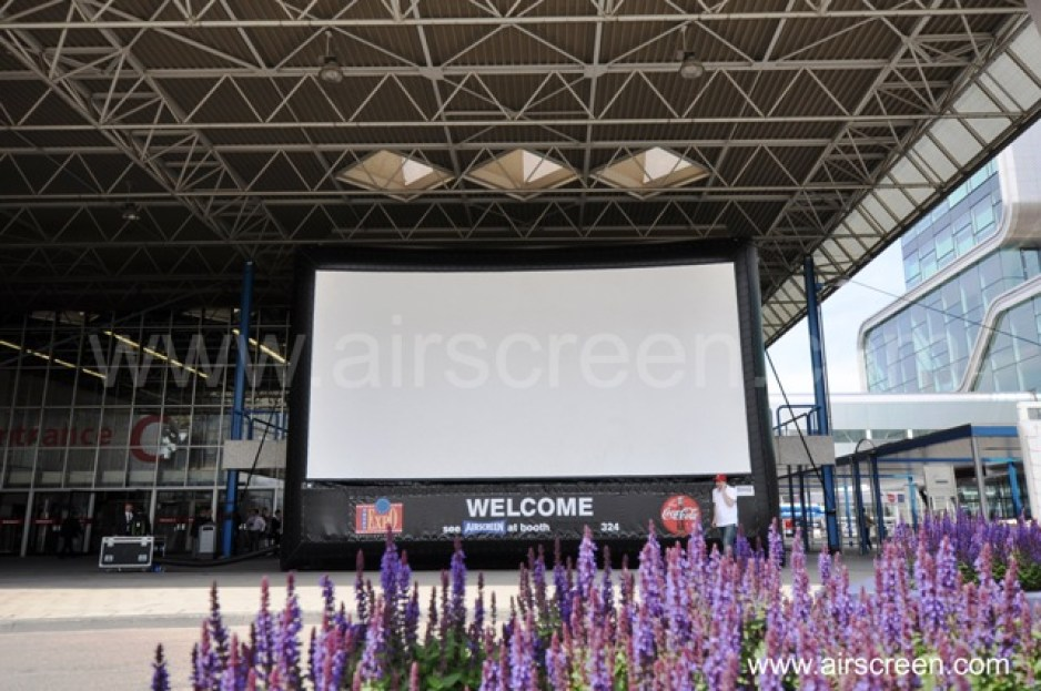 AIRSCREEN auf der Cinema Expo