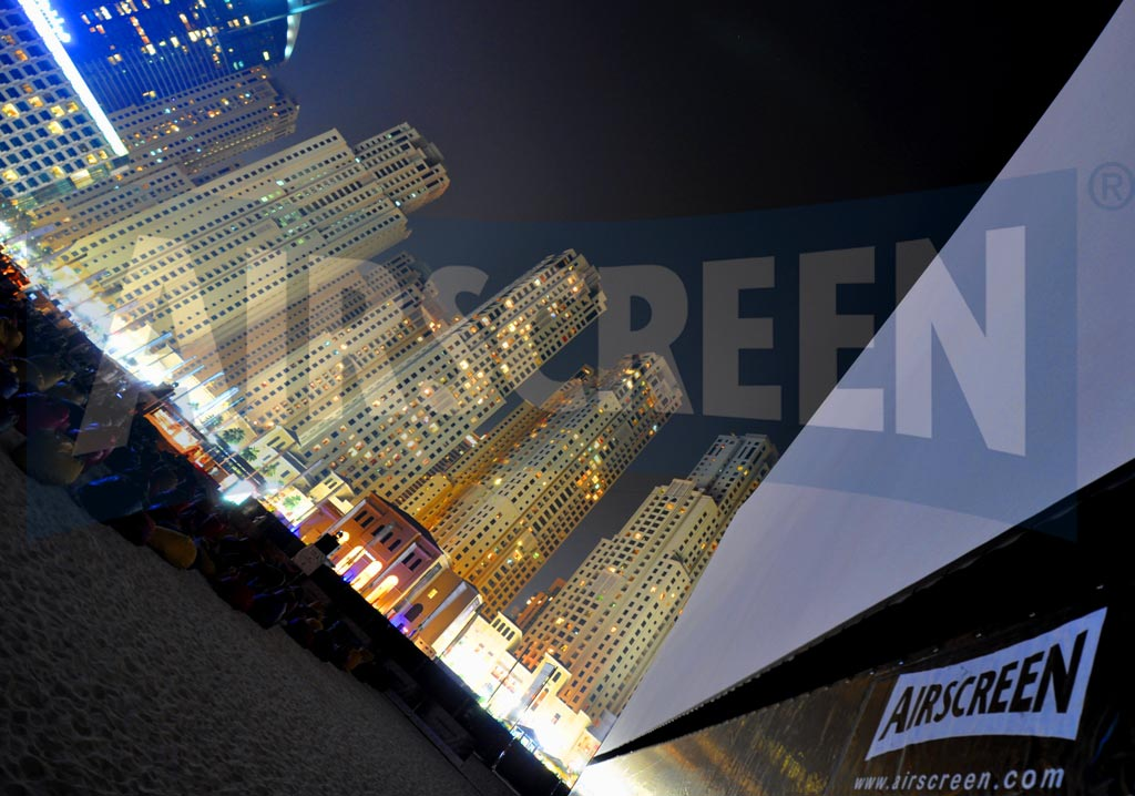 Open-Air-Kino Dubai