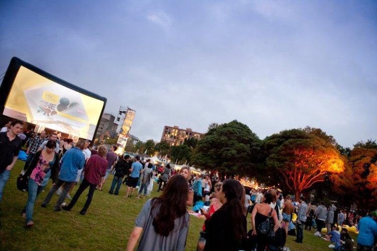 Open-Air-Festival in Australien