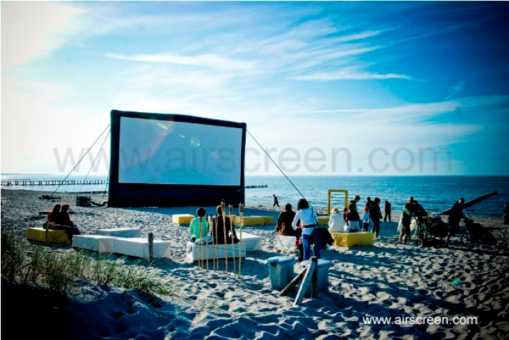 Fotofestival Horizonte am Strand an der Ostsee