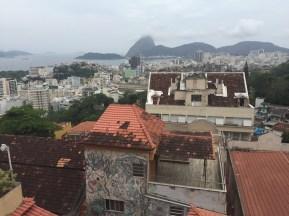 Pintar as casas das favelas