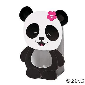 Panda Party Treat Boxes 12pk Party Supplies Canada Open