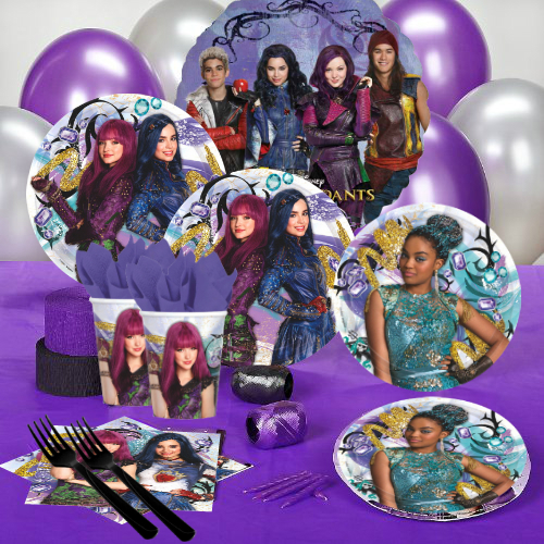 Disney Descendants Birthday Party Supply Party Supplies