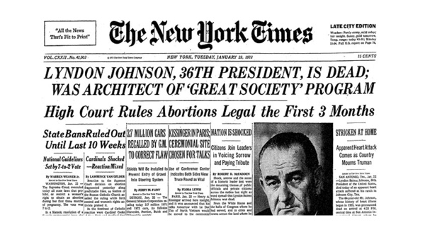 abortion and the u s constitution For over 366 years, under western common law, including pre-colonial america, extending beyond post-1789 us constitutional era, up until 1973 abortion has been illegal in all 50 states trending: president trump unafraid utters three words that others won't prior to america becoming america.