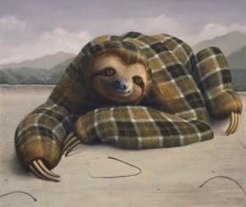 Art Basel painting Sean Landers
