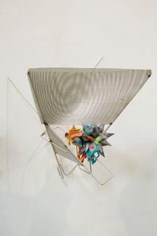 Art Basel sculpture Frank Stella