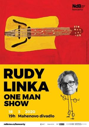 PLAKÁT Rudy Linka