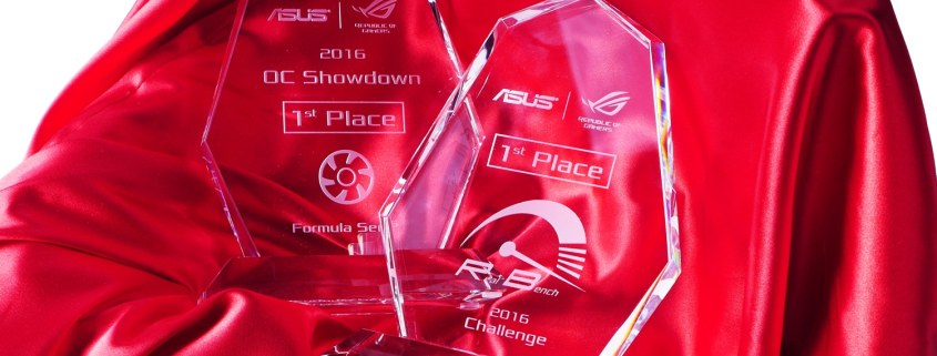 ROG OC Showdown trophy