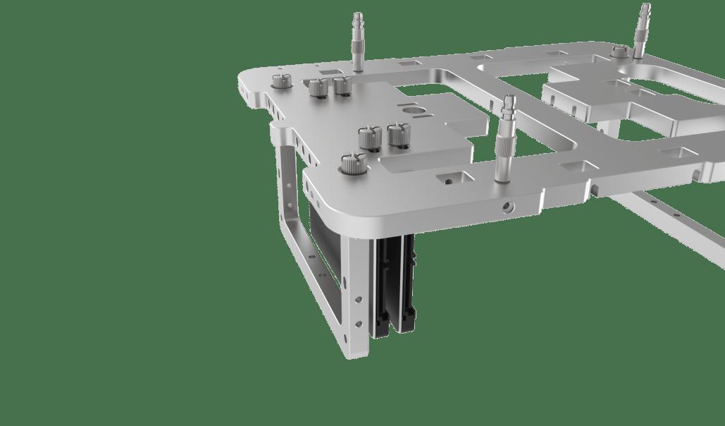 Open Benchtable Mini Storage