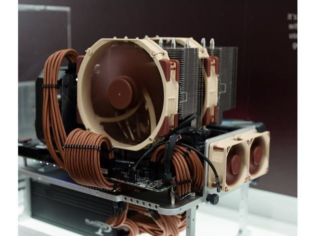 noctua custom vrm fan bracket