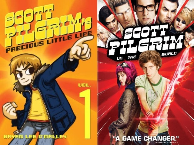 BOOK VS. MOVIE: SCOTT PILGRIM VERSUS THE WORLD