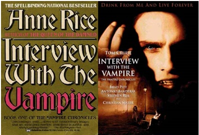 BOOK VS. MOVIE: INTERVIEW WITH THE VAMPIRE