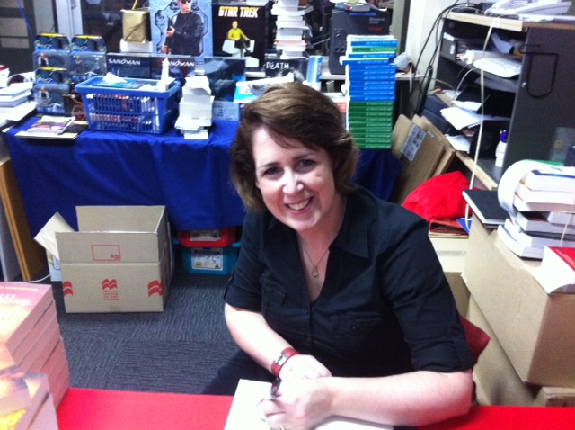 KELLEY ARMSTRONG BOOK SIGNING: OBS SPEAKS OUT