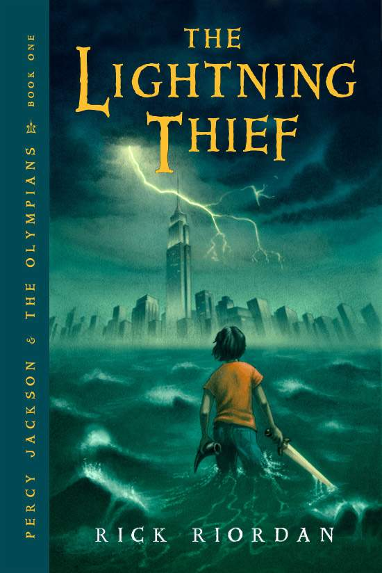THE LIGHTNING THIEF (PERCY JACKSON AND THE OLYMPIANS, BOOK #1) BY RICK RIORDAN: BOOK REVIEW